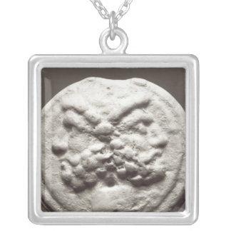 Cinq pièces de monnaie dépeignant Janus, Jupiter Pendentif Carré