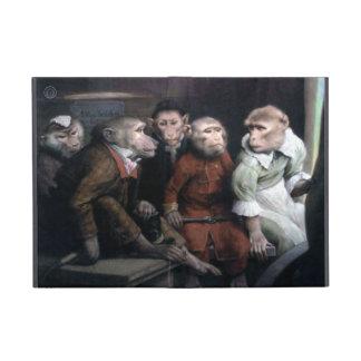 Cinq singes de fantaisie étuis iPad mini