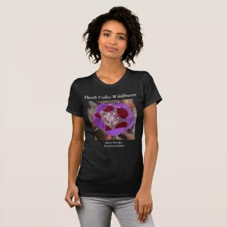 Cinq-Tache de désert de T-shirt de fleurs sauvages