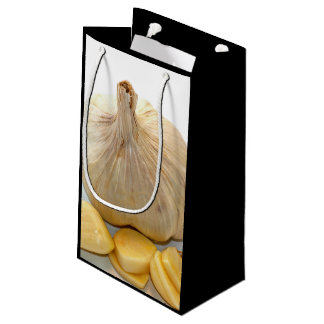 Cinq tranches d'ail et un clou de girofle d'ail petit sac cadeau