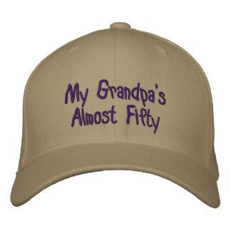 Cinquante de mon grand-papa presque casquette brodée