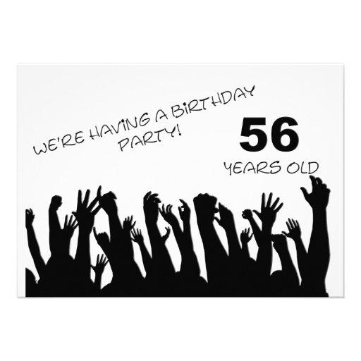 cinquante-sixième invitation de partie avec les fo