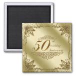 cinquantième Aimant d'anniversaire de mariage
