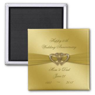 Cinquantième aimant d'or classique d'anniversaire