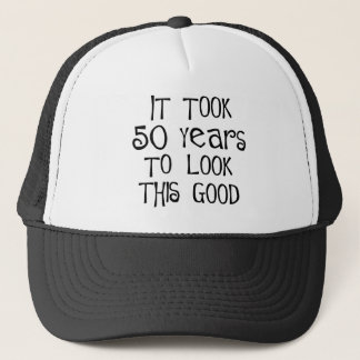 cinquantième anniversaire, 50 ans pour regarder casquettes