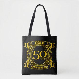 cinquantième Anniversaire de mariage d'or Sac