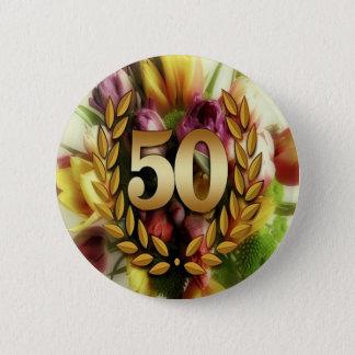 Cinquantième anniversaire d'or pin's