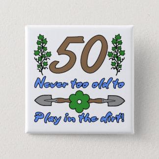 cinquantième Anniversaire pour des jardiniers Pin's