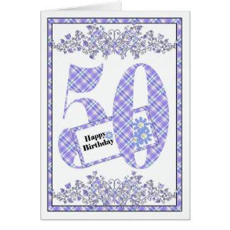 Cinquantième carte heureuse de guingan