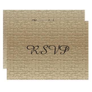cinquantième Cartes de l'anniversaire de mariage Carton D'invitation 8,89 Cm X 12,70 Cm