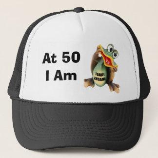 Cinquantième casquette aliéné d'anniversaire