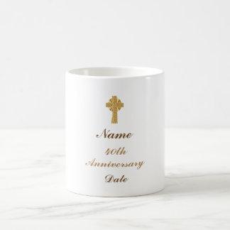Cinquantième d'anniversaire 15ème de prêtre 20ème mug