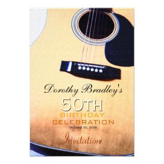 Cinquantième invitation de célébration