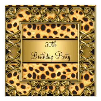 Cinquantième invitation de Jaguar de fête