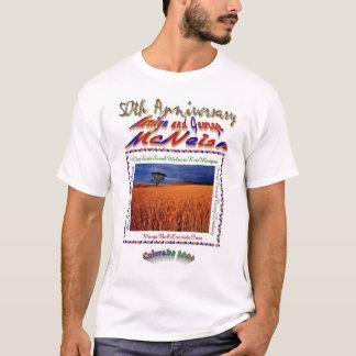 cinquantième T-shirt d'anniversaire