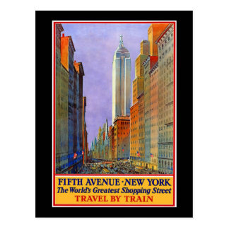 Cinquième Avenue Carte Postale