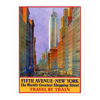 Cinquième Avenue - New York Carte Postale