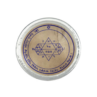 Cinquième pentagramme de Jupiter Bagues