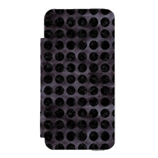 CIR1 BK-MRBL BK-WCLR (R) COQUE-PORTEFEUILLE iPhone 5 INCIPIO WATSON™