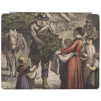 Circa 1850 : Un Carter livrant le houx Protection iPad