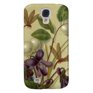 Circa 1881 : Snowberries et violettes Coque Galaxy S4