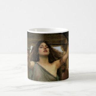 Circe offrant la tasse à Ulysse par le château
