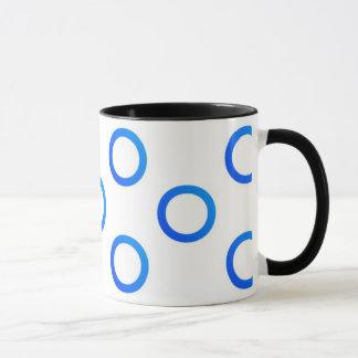 Circles - Mug - Blue