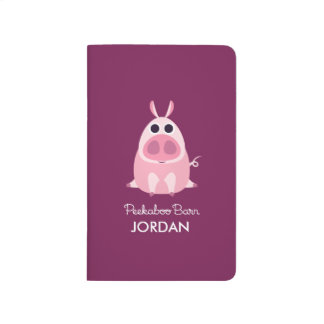 Circonspect le porc carnet de poche