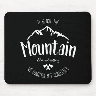 Citation 2 de montagne tapis de souris