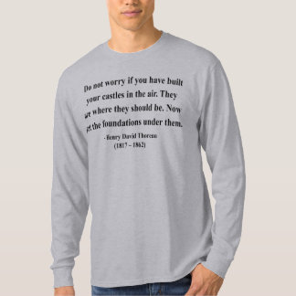 Citation 2a de Thoreau T-shirt