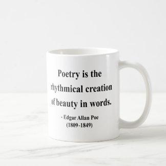 Citation 5a d'Edgar Allen Poe Mug