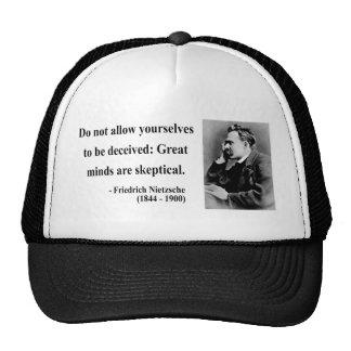 Citation 9b de Nietzsche Casquettes