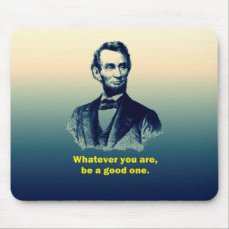 Citation d'Abraham Lincoln Tapis De Souris