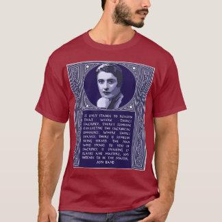 Citation d'Ayn Rand sur ceux qui poussent le T-shirt