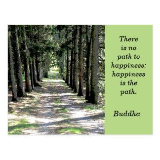 Citation de Bouddha -- carte postale