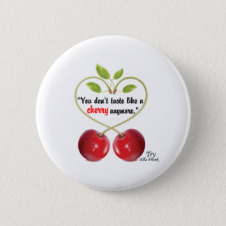 Citation de cerise - bouton badges