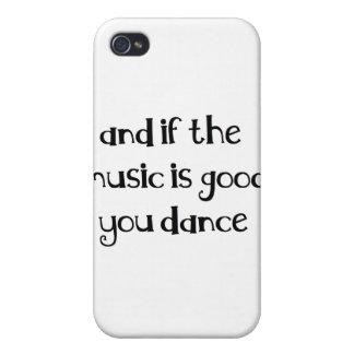 Citation de danse étui iPhone 4/4S