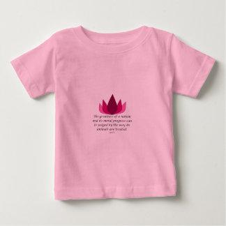 Citation de Gandhi T-shirt Pour Bébé