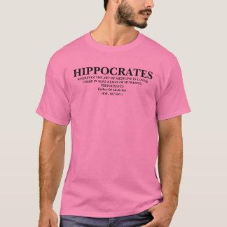 CITATION DE HIPPOCRATE - CHEMISE T-SHIRT