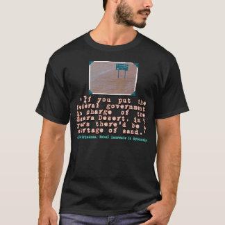 Citation de Milton Friedman sur l'efficacité de T-shirt
