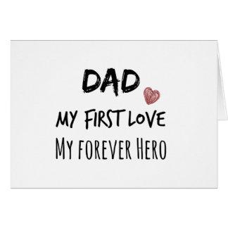 Citation de papa : Ma première passion, mon héros Cartes