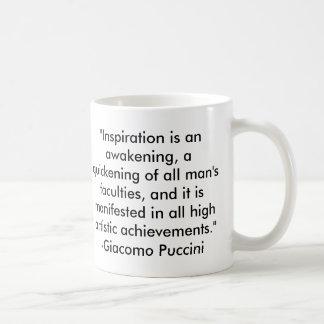 Citation de Puccini Mug