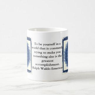 CITATION de Ralph Waldo Emerson inspirée Mug