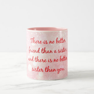 Citation de soeur tasse 2 couleurs