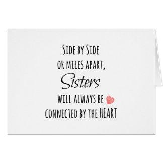 Citation de soeurs cartes