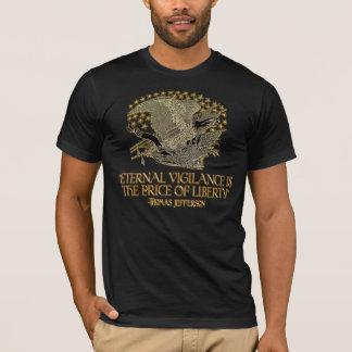 Citation de Thomas Jefferson : Vigilance éternelle T-shirt