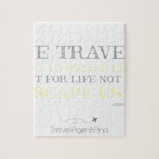 Citation de voyage puzzle