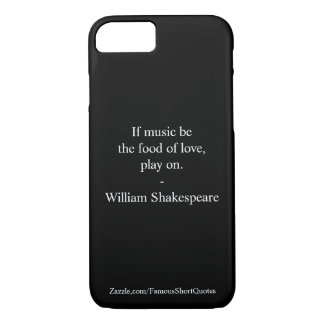 Citation de William Shakespeare - amour Coque iPhone 7