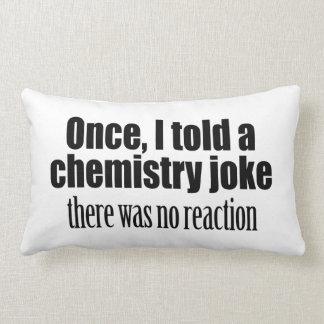 Citation drôle de professeur de chimie - aucune coussin décoratif