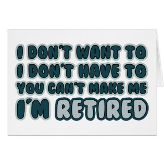 Citation drôle de retraite cartes de vœux
